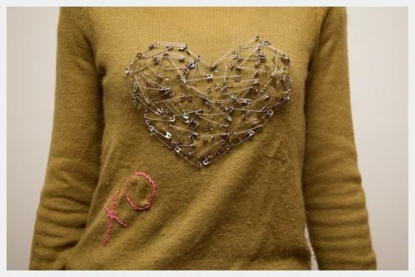 Своими руками как украсить свитер