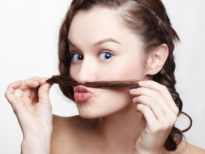 На лице которые волосы в домашних условиях как убрать