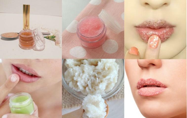 Что такое пилинг губ в домашних условиях