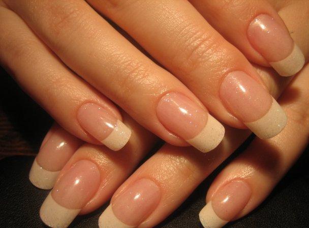 Фото длинных натуральных ногтей