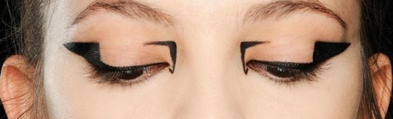 Как рисуют стрелочки на глазах