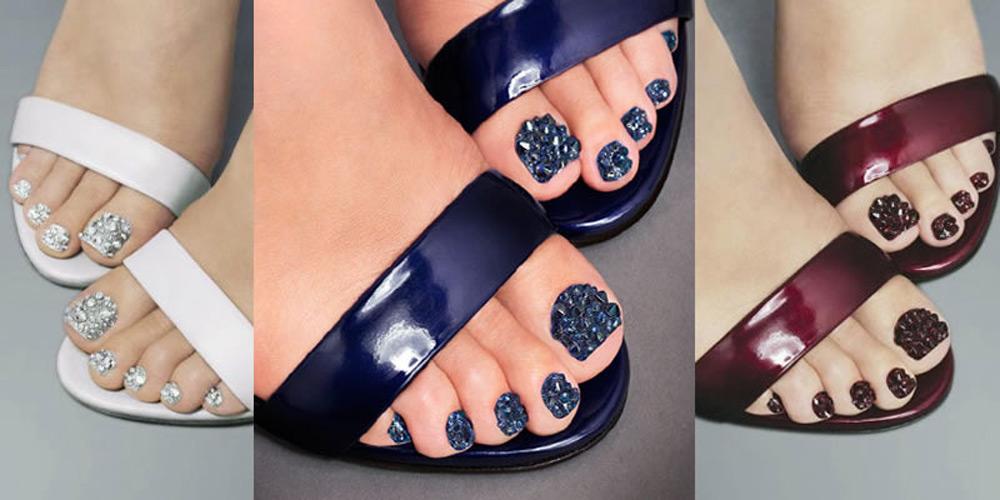 Модный цвет ногтей на ногах