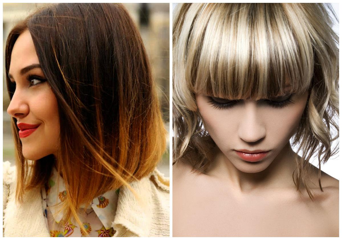 Что сейчас модно в окрашивание волос