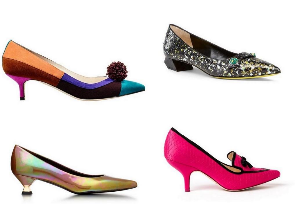 Модная женская обувь туфли
