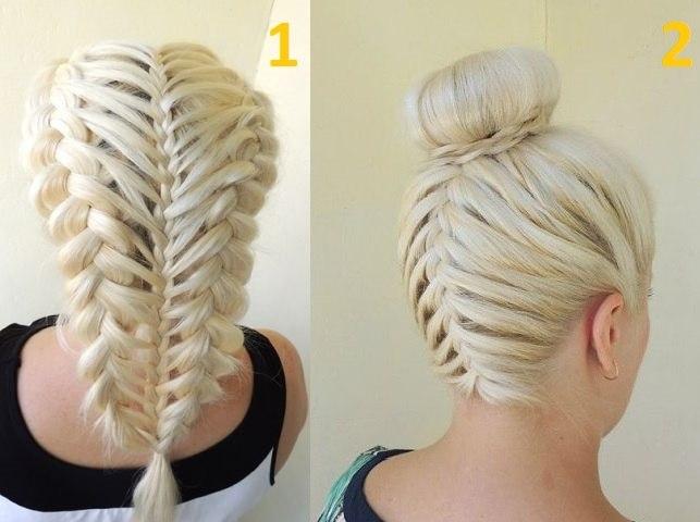 Сложные причёски с косами