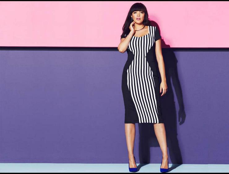 модные платья для полных в 2017 году