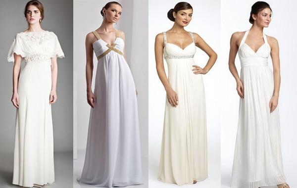 Как подобрать платье с маленькой грудью