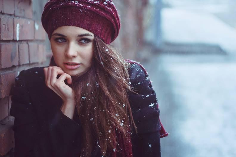 Модные зимние береты 2017 год