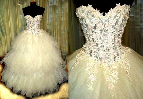 Свадебное платье цвета брызги шампанского фото