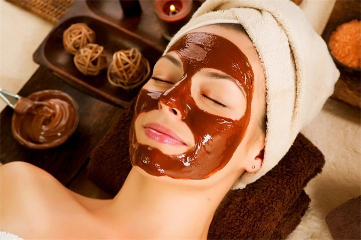 Маска для лица на основе шоколада