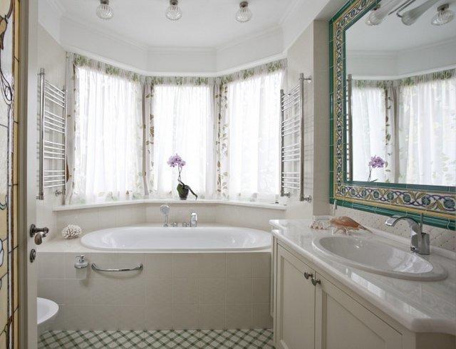 Красивая ванная в Москве
