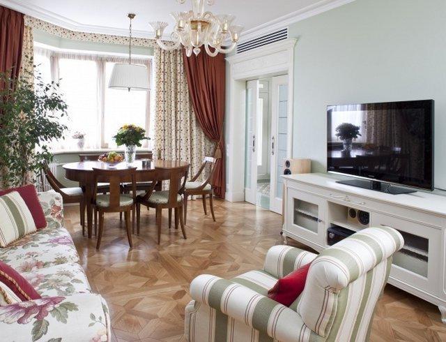 Красивая гостиная в Москве