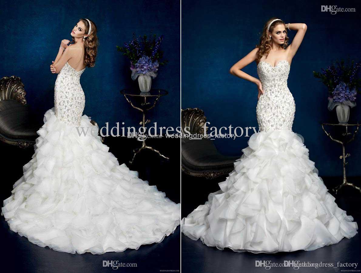 Платье на свадьбу для Рыб