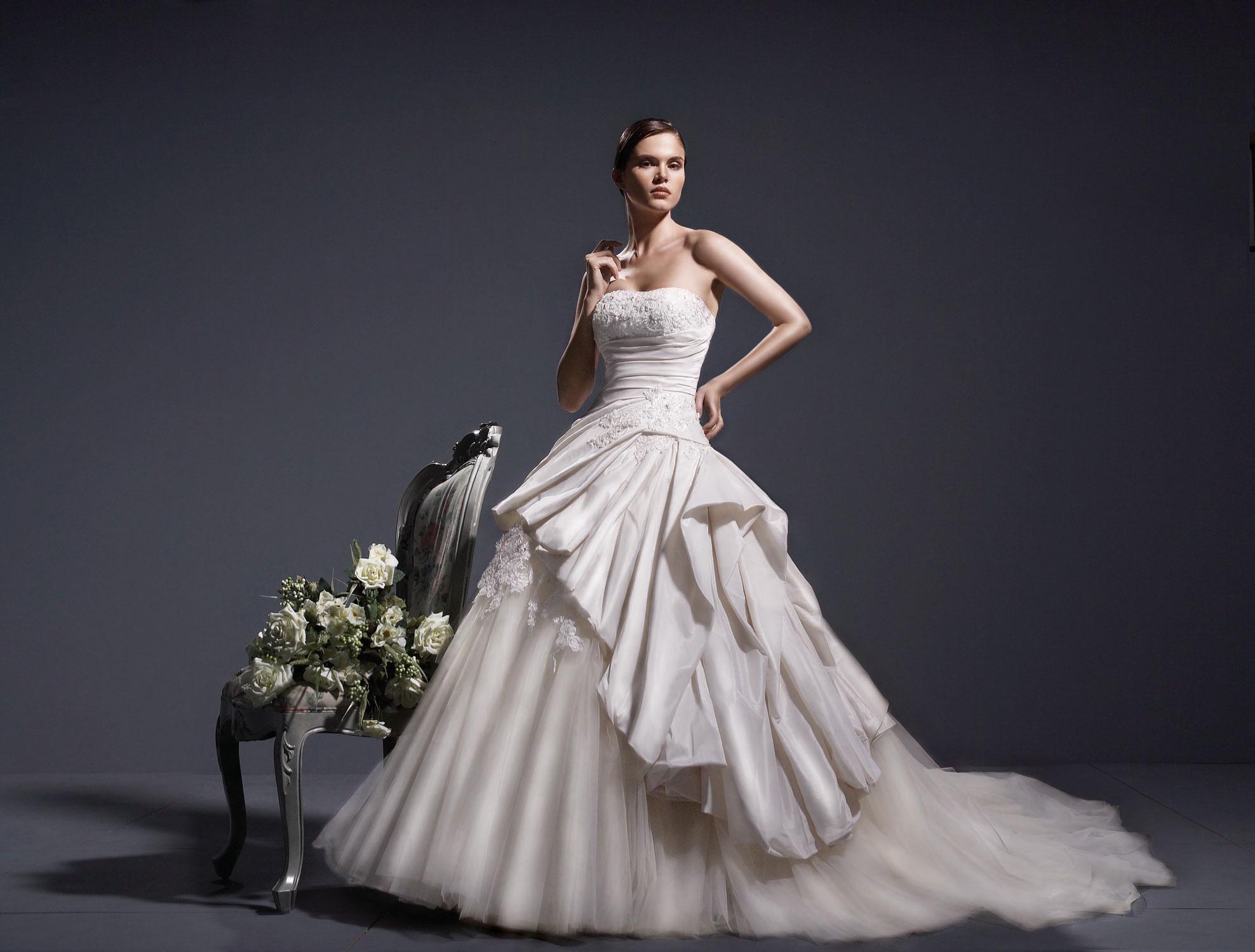 Платье на свадьбу для Рака