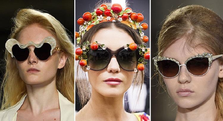 Модные солнцезащитные очки 2017 года