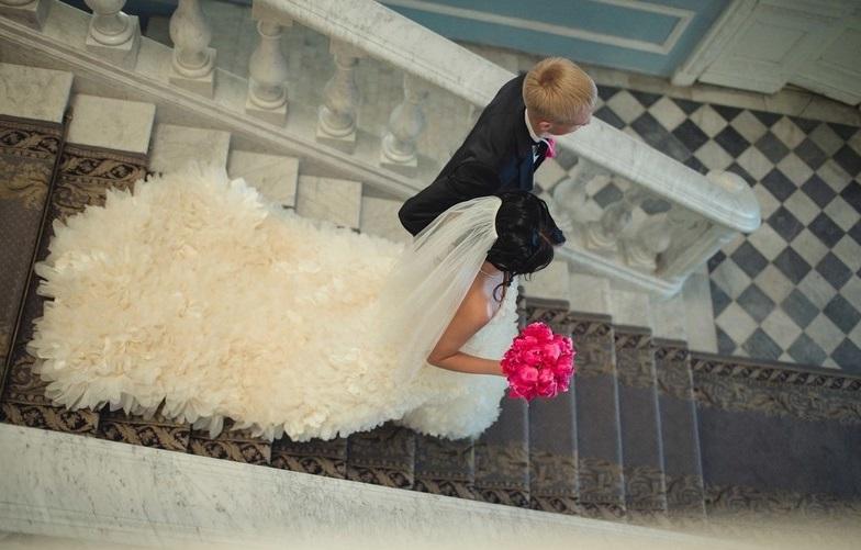 Платье на свадьбу для Стрельца