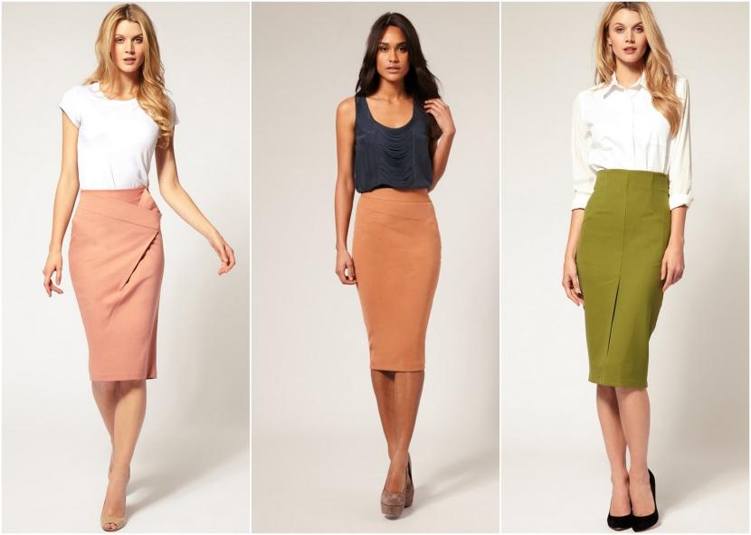 какие юбки в моде весной 2017