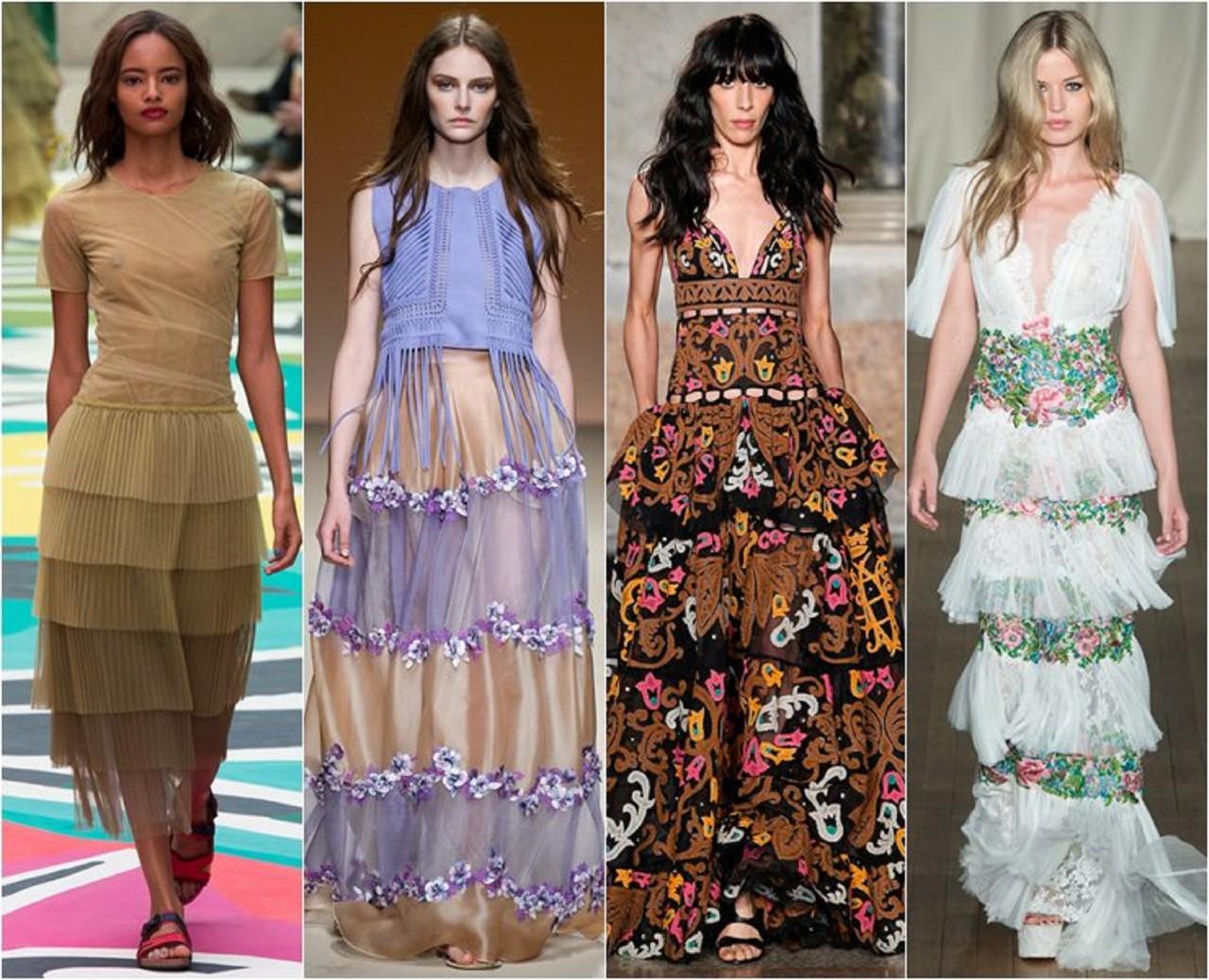 Модные сарафаны лето тренды