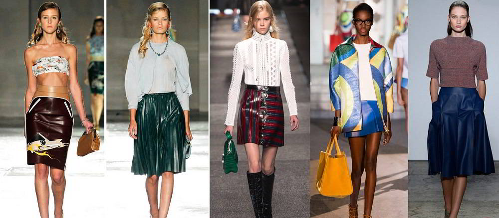 Мода весна 2017 юбки