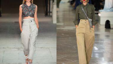 Модные брюки весна-лето 2017