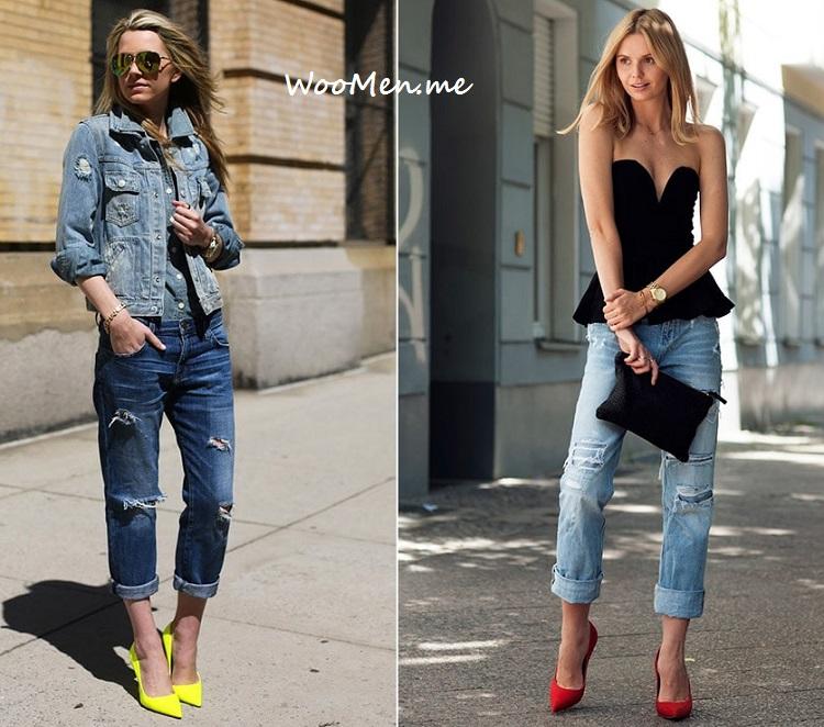 Женские джинсы мода весна лето 2017