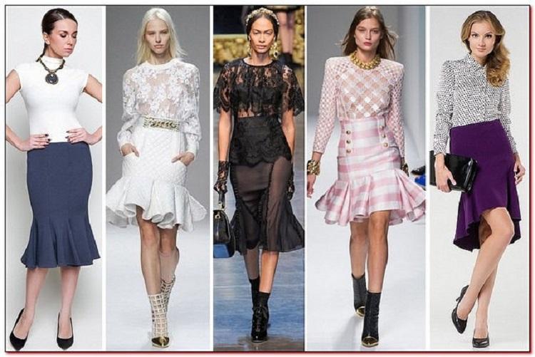 юбки весна лето 2017 мода