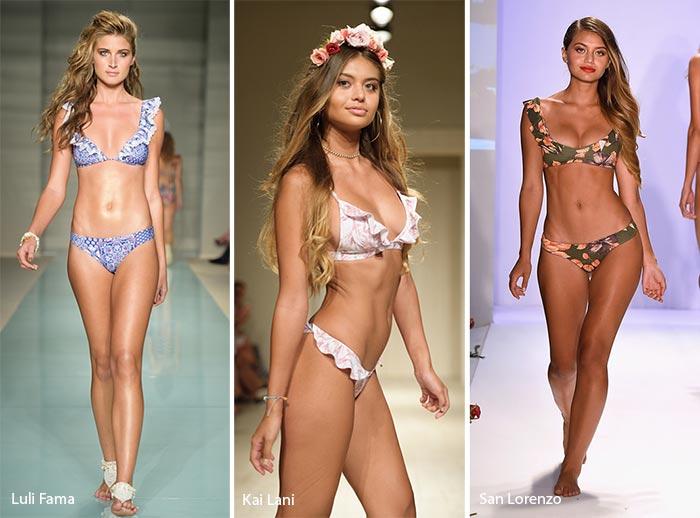 Модные модели купальников 2017