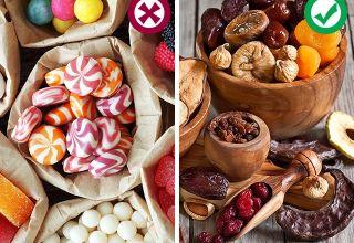 Чем заменить вредные сладости?