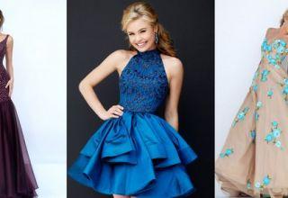Модные платья на выпускной 2017