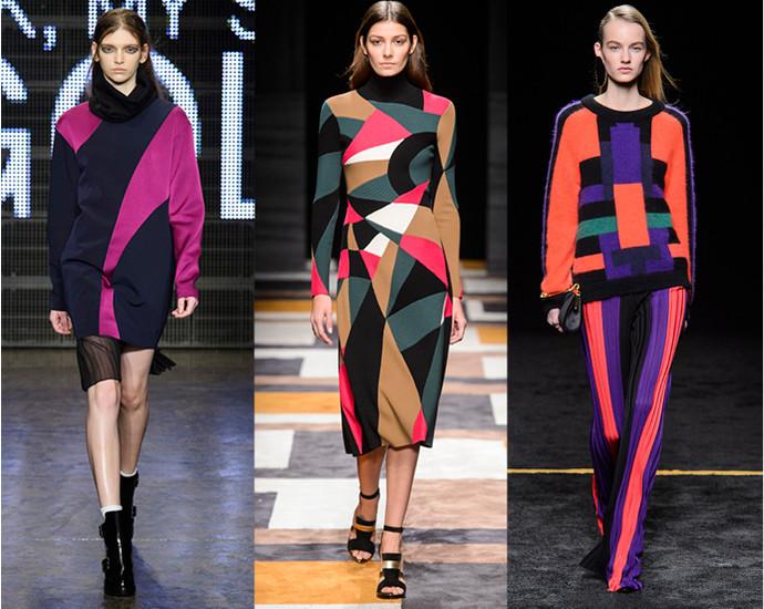 модная осенняя одежда 2017
