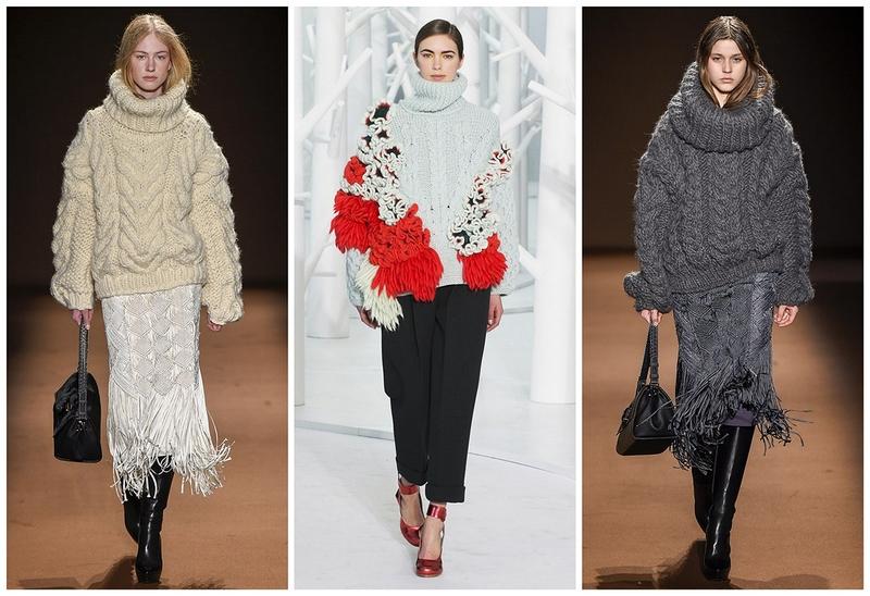Модные кофты, свитера осень-зима 2017-2018