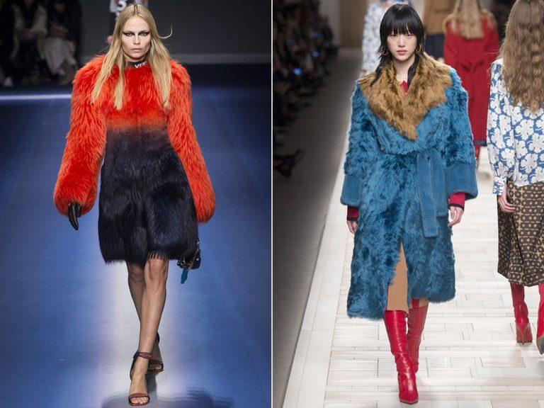 Модные тенденции осень-зима 2017-2018