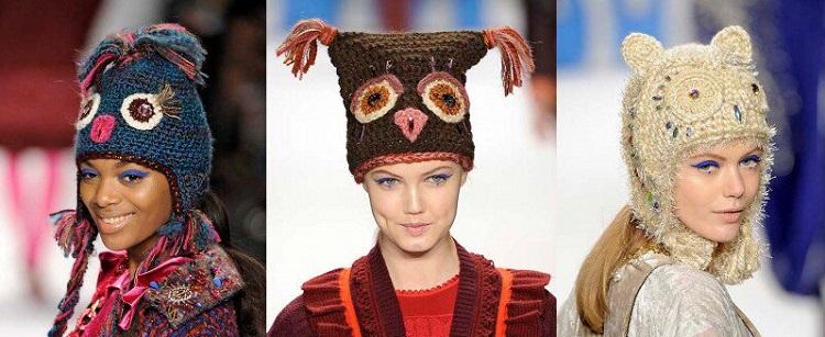 Модные шапки осень-зима 2017-2018