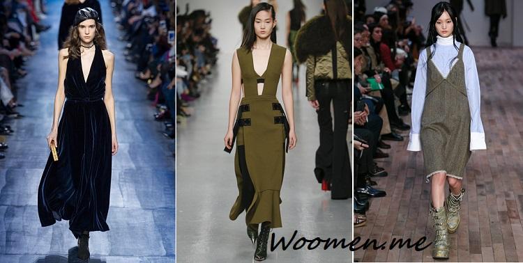 Модные платья этой зимой 2017-2018