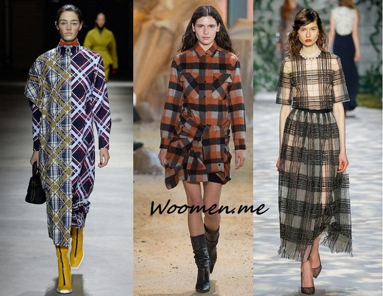 платья зима 2017-2018 тенденции