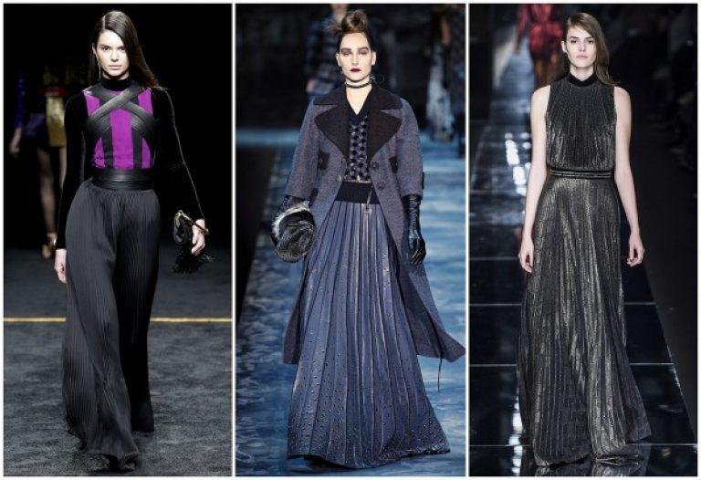 Модные платья зима 2017-2018