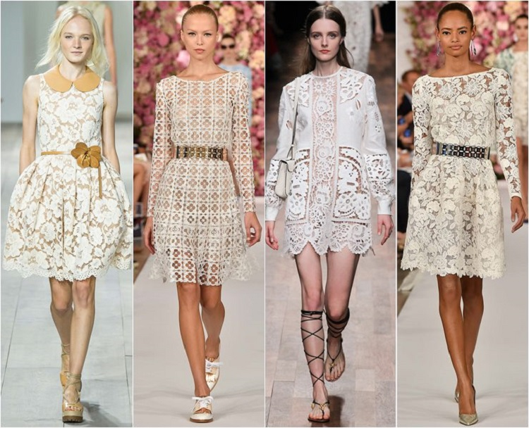 Модные платья этой весной 2018 фото