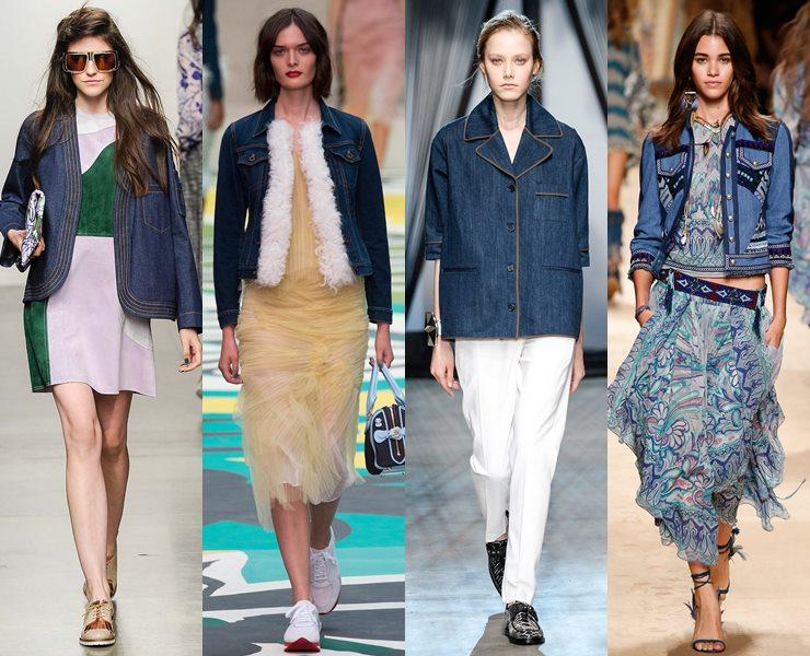 Модные женские куртки весна 2018