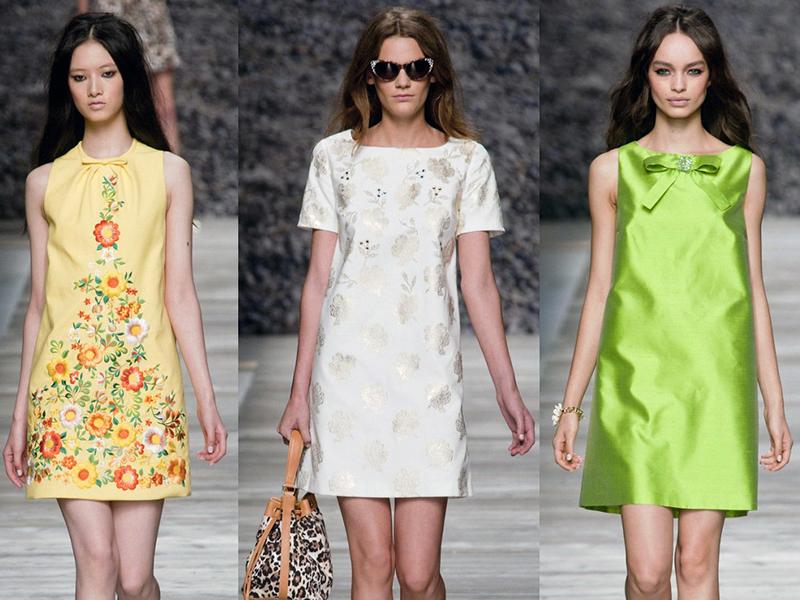 Модные платья этой весной 2018
