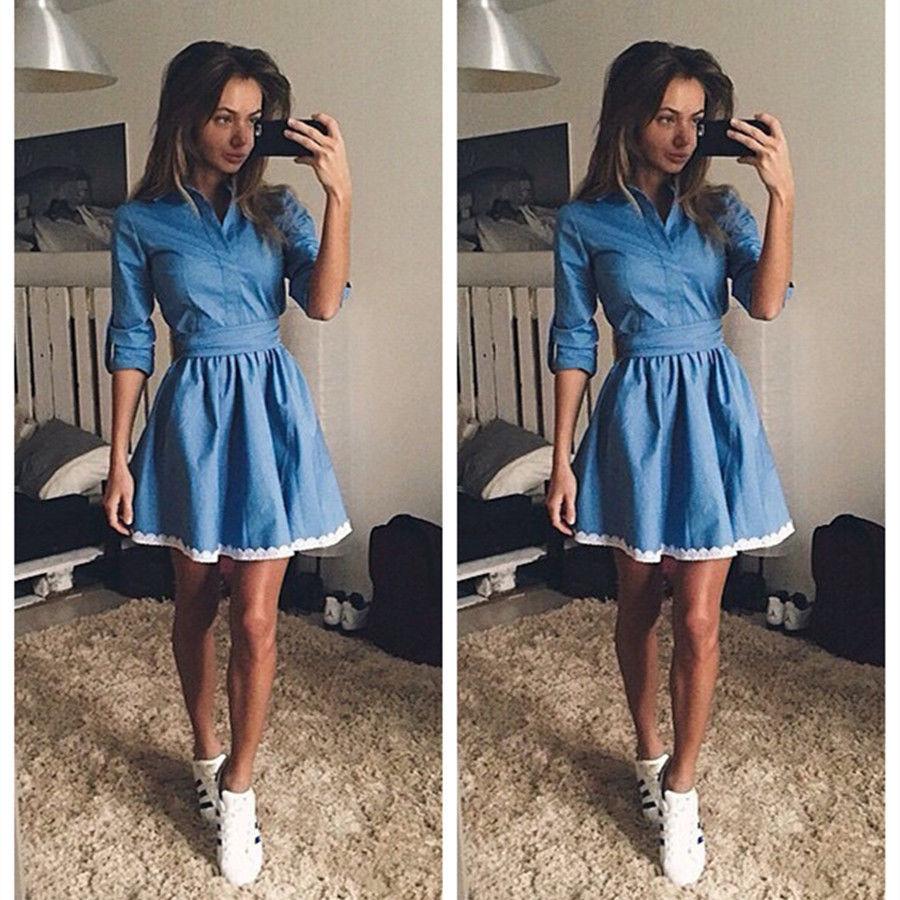 Модные платья этой весной - тенденции, фото