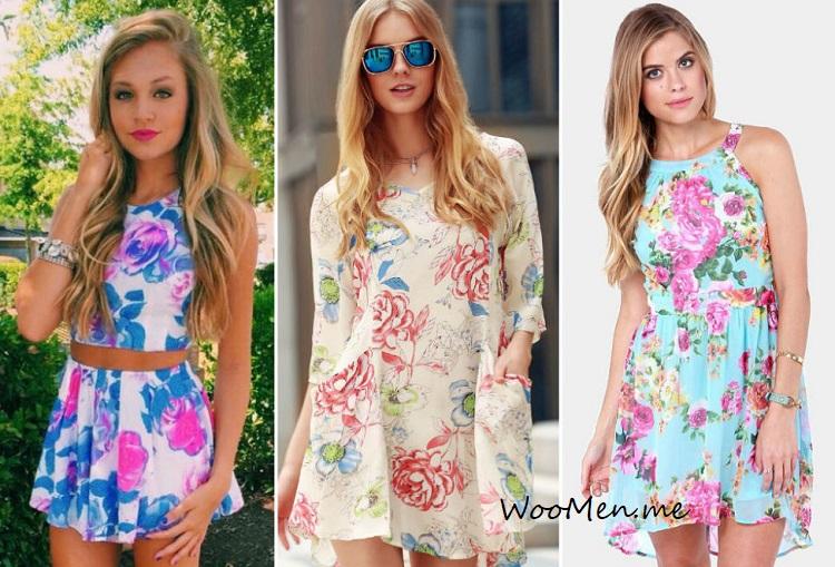 Модные платья этим летом - тенденции, фото