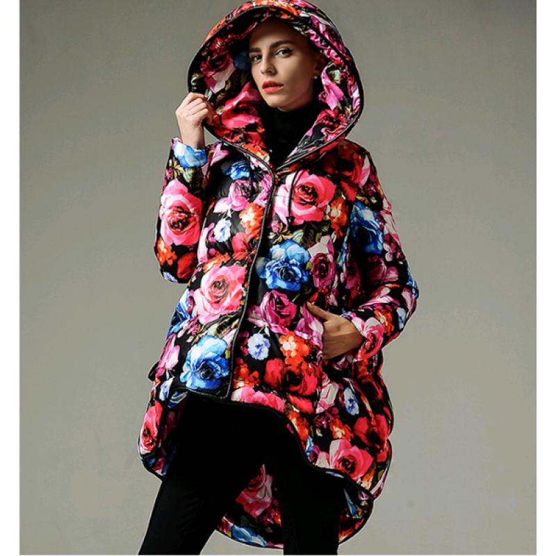 Модные куртки с принтом весна 2018