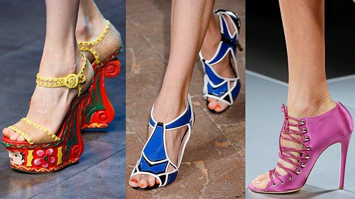 Модные босоножки весна-лето 2018