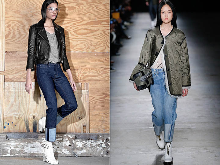 Модные джинсы весна-лето 2018 тенденции