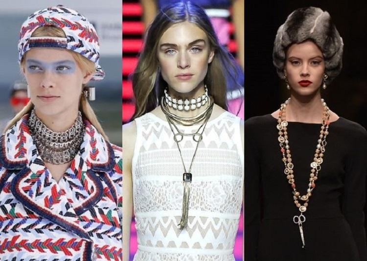 Модные украшения лето 2018