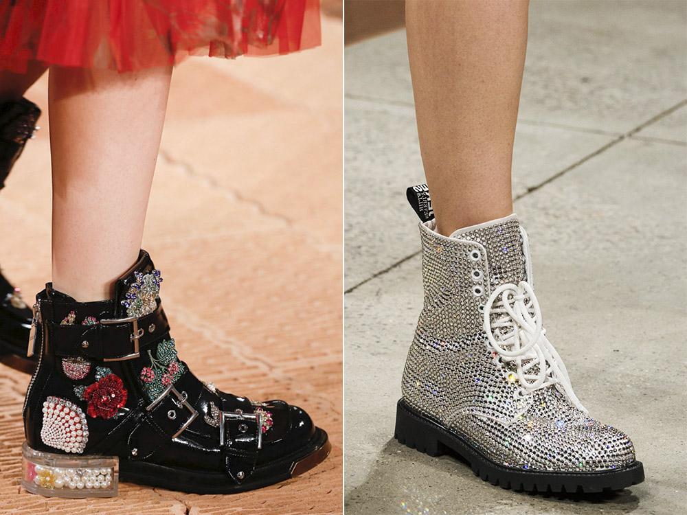 Модные ботинки весна 2018