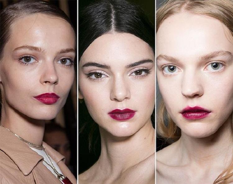 модные оттенки губной помады весна-лето 2018