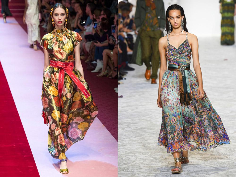 Модный принт весна 2018