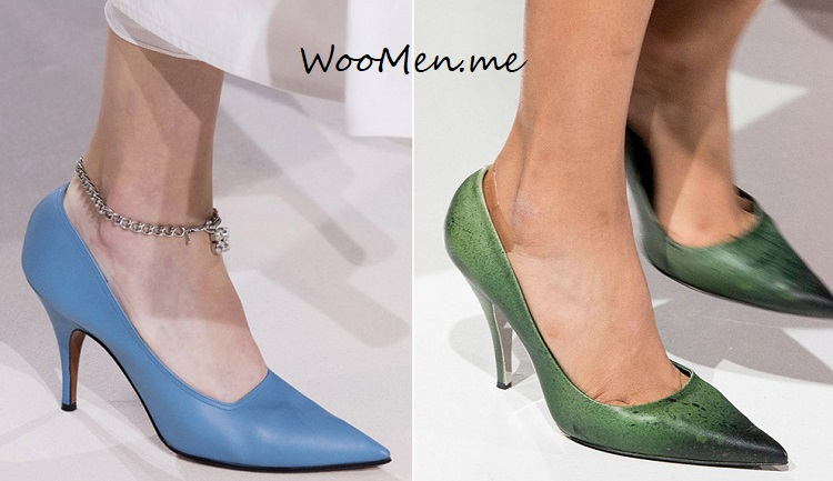 Модные туфли весна-лето 2018 тенденции