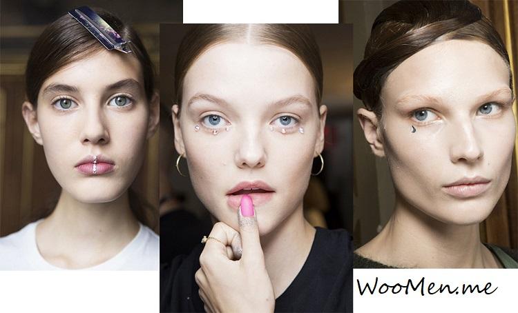 модный макияж для глаз весна-лето 2018